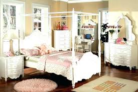 Twin Canopy Bed Frame Wood Full Size Wooden