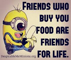 Quotes About Food And Friendship