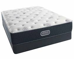 mattress king size. Simmons Silver Lagoon Mist Plush King Mattress Size