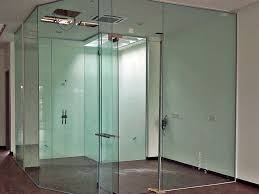 frameless glass partitions manufacturers suppliers exporters