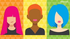 Unnatural Hair Color Chart The Best Pastel And Neon Hair Color For Your Skin Tone And
