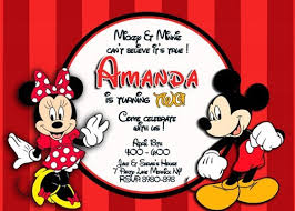 mickey and minnie invitation templates birthday party invitations wonderful mickey and minnie birthday