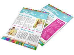 Education Newsletter Templates Preschool Newsletter Template