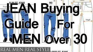 Levis Mens Jeans Style Chart Buying Jeans For Men Over Age 30 How To Buy Denim For Older Guys Jean Purchasing Guide