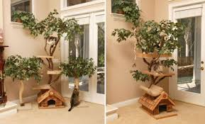 this pet furniture could help you to create excellent living conditions for your dear cat these cat tree houses are unique and everything is hand crafted