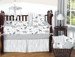 jojo designs crib bedding sets sweet jojo designs crib bedding set navy and mint woodsy 11pc