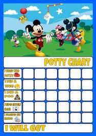 Pink Potty Toilet Training Reward Chart Kids Child Sticker