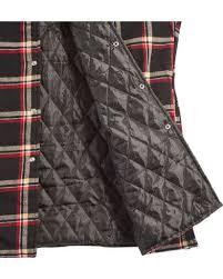 Ely Cattleman Men's Black Quilted Flannel Shirt Jacket - Tall ... & Ely Cattleman Men's Black Quilted Flannel Shirt Jacket - Tall , Black,  hi-res Adamdwight.com