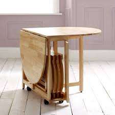 Furniture Perfect Solution For Your Dining Room With Foldable