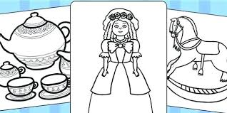 Seaside Coloring Pages At The Beach Colouring Page Make Your Own