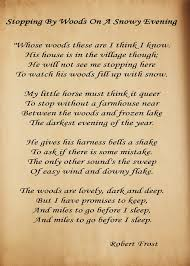 stopping by woods on a snowy evening robert frost watched a stopping by woods on a snowy evening robert frost watched a rare interview