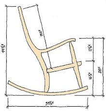 wooden rocking chair plans. rocking chair dimensions wooden plans s