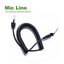 compare prices on motorola speakers online shopping buy low price 10pcs diy new 8 pin speaker mic for motorola gm300 gm338 gm950 car mobile radio