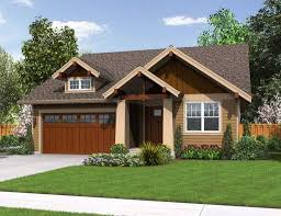 simple and small craftsman house plans exterior