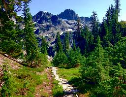 Mountains Crags Landscapes Trail Nature Nature Countryside