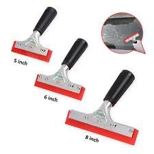 foshio 8inch handle teflon knife vinyl cutter slitter 10pcs blade wallpaper window tint car wrap foil film sticker cutting tools