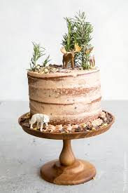 forest wedding cake. forest chocolate pumpkin cake wedding
