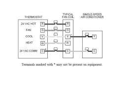 trane air handler wiring diagram brown wire thermostat at Trane Thermostat Wiring Color Code