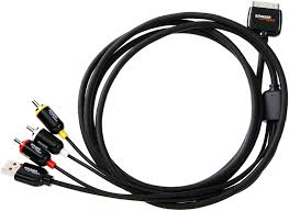 basics composite av cable for apple iphone ipad co uk electronics