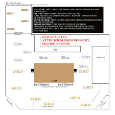 The Ready Room St Louis Seating Chart New Years Eve St Louis The Boom Boom Room