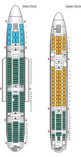 The First Of Sias A380 Configurations Passenger Aircraft