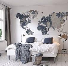 bedroom wall ideas pinterest. Best 25 World Map Bedroom Ideas On Pinterest Decoration Wall H