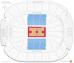 Raptors Courtside Seating Chart Scotiabank Arena Courtside Basketball Seating