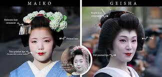 geisha maiko makeup