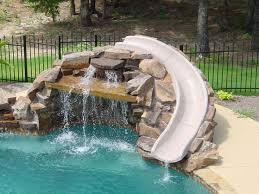 backyard pool with slides. Backyard Pool Designs With Slides