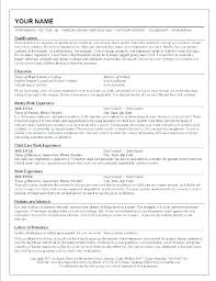Resumes For Babysitters American Red Cross Babysitting Resume Template Baby Sitter