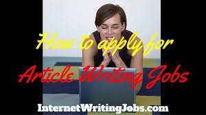article writing jobs article writing jobs
