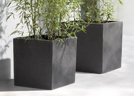 manutti square planter modern planters from outdoor furniture