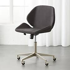 modern desk chair. Milton Grey Office Chair Modern Desk Chair