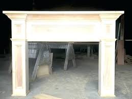 how to build fireplace mantel and surround fireplce fireplce gs fireplce