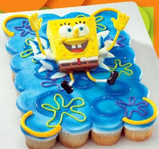 13 Of Cakes Made From Spongebob Cupcakes Photo Spongebob
