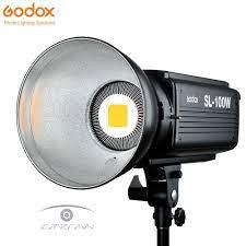 ĐÈN LED QUAY PHIM CHỤP ẢNH GODOX SL-100W cho stduio hàng chính hãng