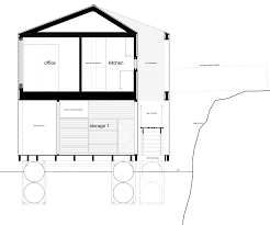 Floating House Plans Floating House Bobs On The Surface Of Canadas Lake Huron