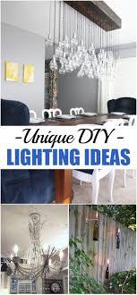 unique diy lighting. Unique DIY Lighting Ideas Diy N