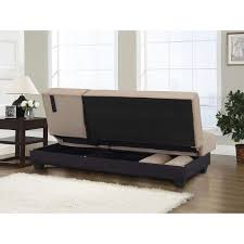 serta dream convertible sofa bed tufted microfiber suede cover head rest the right side 4 seat