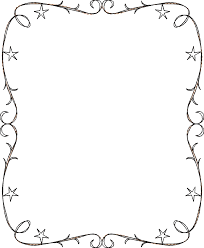 Stickdatei Weihnachtsstern Doodle Rahmen