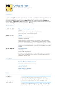 Technology Consultant Resume samples - VisualCV resume samples ...
