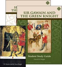 sir gawain and the green knight set memoria press sir gawain and the green knight set