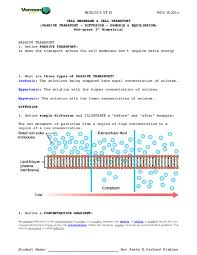 3 Types Of Passive Transport Doc Cell Membrane Cell Transport Passive Transport