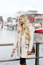 outfit trenchcoat by the habour zara knee high boots 7