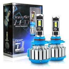 Us 16 71 56 Off Hl T1 Pro Led Car Headlight Bulbs 70w 7200lm H4 9004 Hi Lo Beam Automotive Headlamp Lights With Canbus Driver Emc Turbo Fan Ip68 In