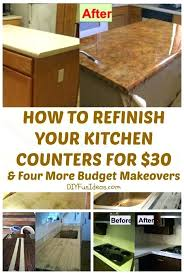 m mica home improvement how can i update my without replacing them to redo countertops diy