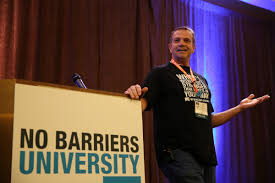 no barriers university mark moore no barriers university is a collection of speakers and presenters united to share their ideas missions and causes across a variety of subjects