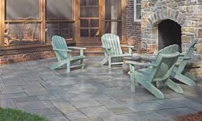 protect a paver patio with glossy finish