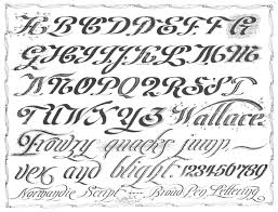 Fancy Cursive Letters Alphabet Free Printables Worksheet