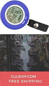 Multi Function Lcd Digital Outdoor Fishing Barometer